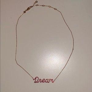 Henri Bendel Rose Gold Dream Necklace